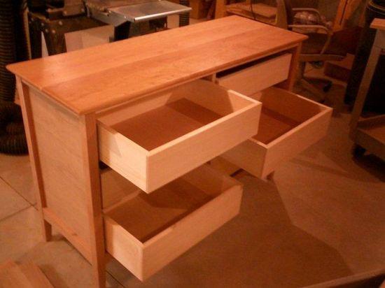 traditional dresser plans
