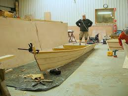 how to build a fishing boat